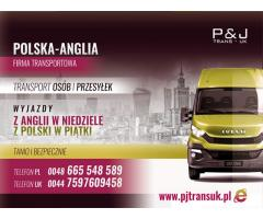 PJ TRANS-UK- TRANSPORT POLSKA - ANGLIA