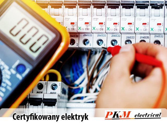 Certyfikowany elektryk, instalacje elektryczne, montaż, modernizacja - 1