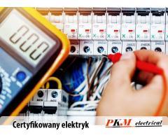 Certyfikowany elektryk, instalacje elektryczne, montaż, modernizacja