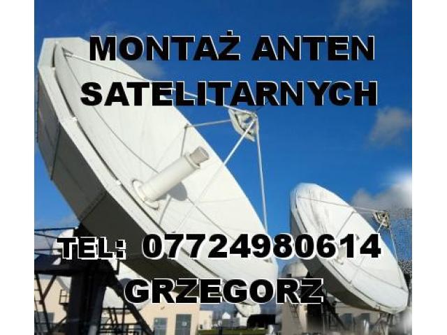 MONTAŻ ANTEN SATELITARNYCH oraz instalacje CCTV Southampton Bournemouth Portsmouth - 2