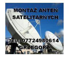 MONTAŻ ANTEN SATELITARNYCH oraz instalacje CCTV Southampton Bournemouth Portsmouth - Image 2